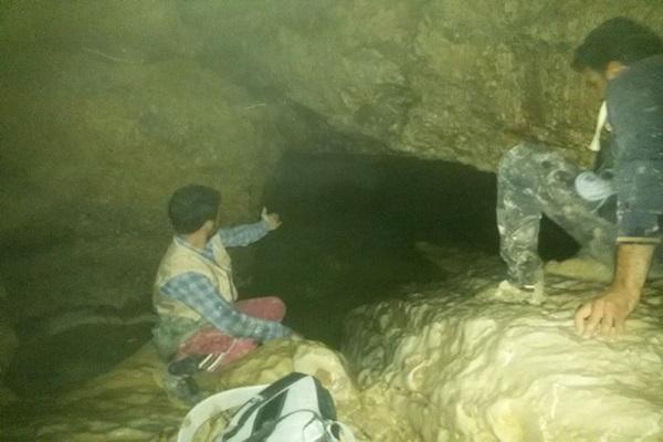 پایگاه خبری کهگیلویه-کشف غار نزل