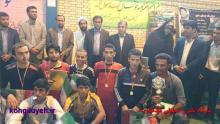 مراسم اختتاميه مسابقات فوتسال به نام محمد رسول الله(ص) در قلعهرئيسي +تصاوير